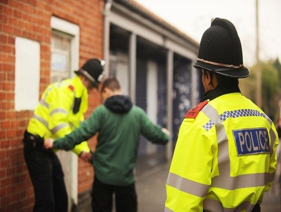 Stop and search with police